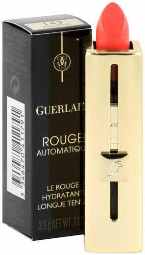 Guerlain Rouge Automatique Lip Colour 144 Insolence Nawilżająca pomadka do ust - 3,5g - Darmowa Wysyłka od 149 zł