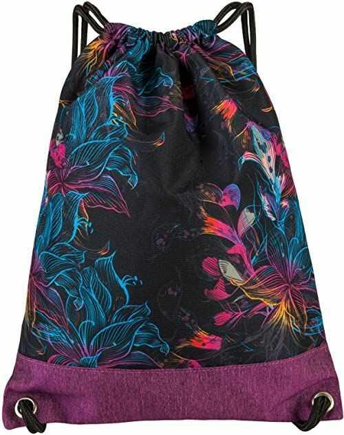 Worek sportowy worek worek worek plecak SLING FASHION PEPPERS PINK FLOWER 26415