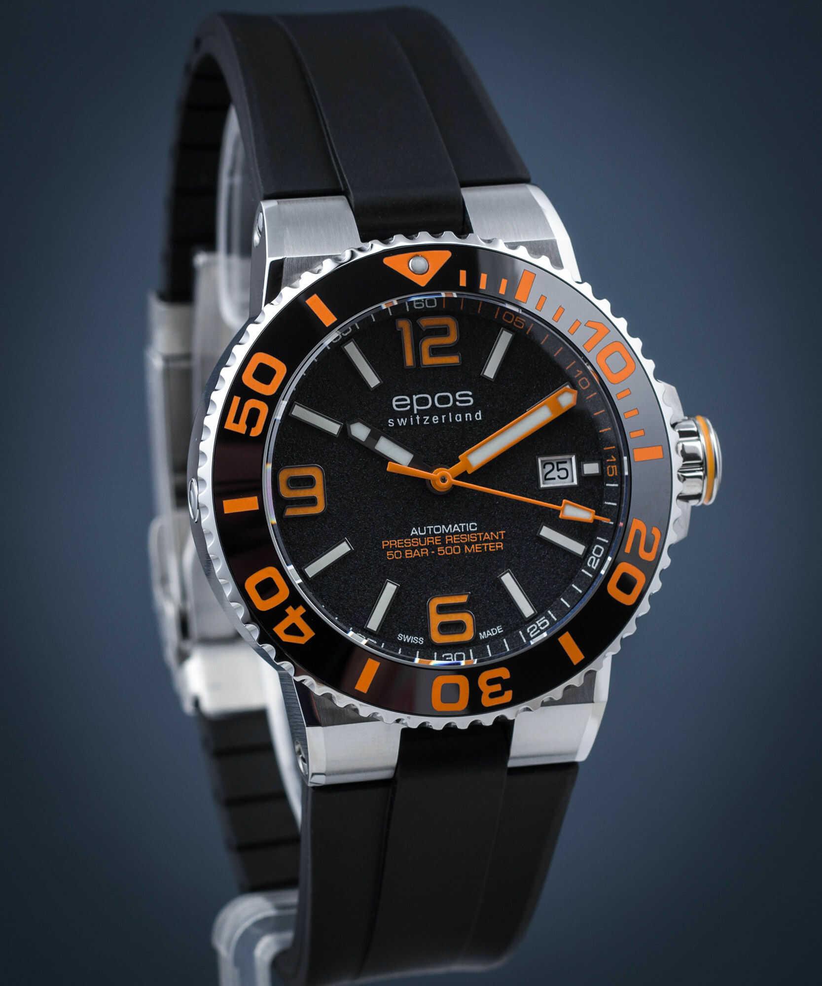 Zegarek męski Epos Sportive Diver Automatic