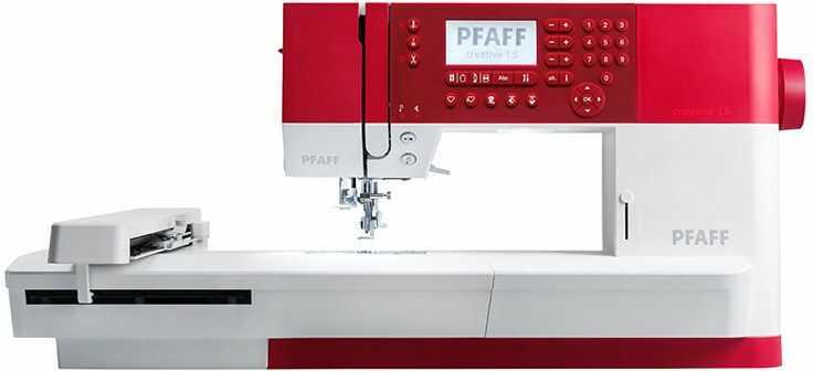 Maszyno - hafciarka komputerowa Pfaff Creative 1.5 - pole haftu 24 x 15 cm + RABAT dla zalogowanych
