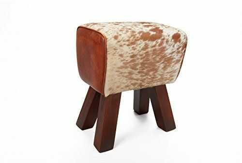 Esidra Lower Burrell taboret, drewno, wzór, 1 x 1 x 1 cm