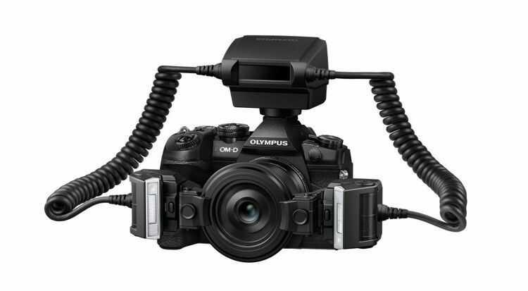 Olympus STF-8 lampa do makrofotografii