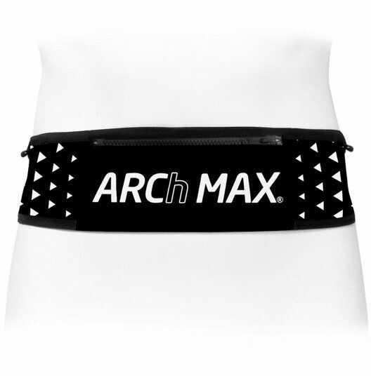 ARCH MAX pas biegowy BELT PRO TRAIL TRIANGLE czarno-biały - Czarno-biały
