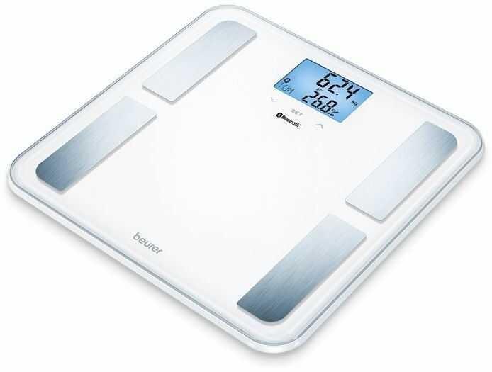 BEURER BF 850 BT white Waga diagnostyczna z analizą składu ciała, biała Bluetooth