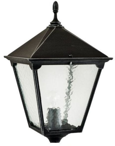 Klosz głowica lamp fi 35mm RETRO KWADRATOWE K 1018 BD KW srebrny