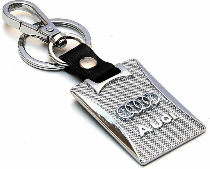 Brelok metal i skóra - Audi