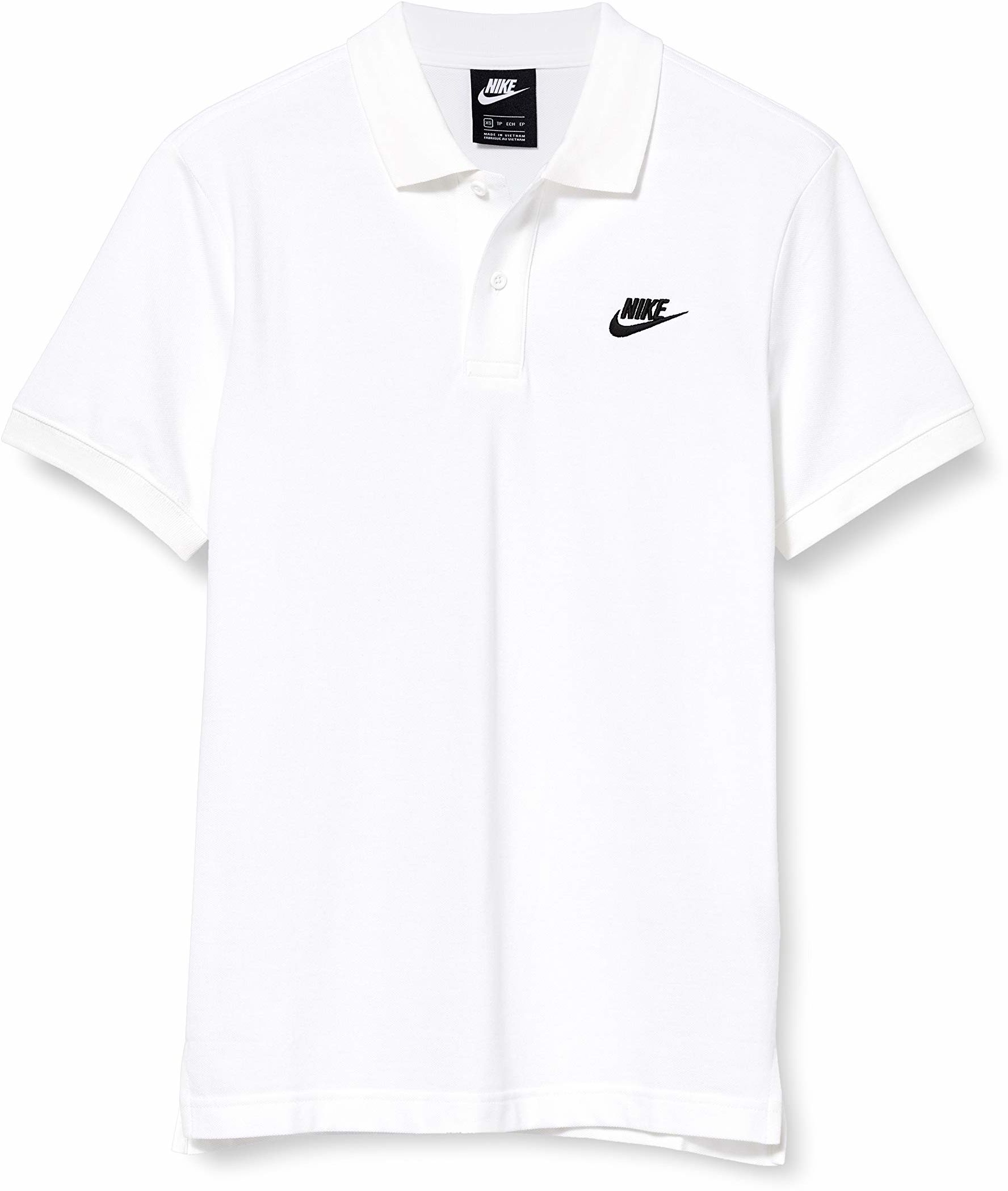 Nike Męska koszulka polo Sportswear biały biały i czarny M
