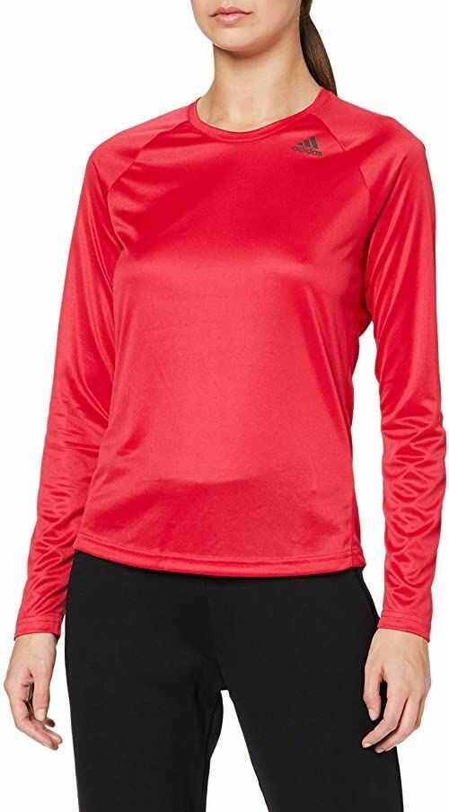 adidas damski T-shirt z długim rękawem D2m Pink/Rosene L