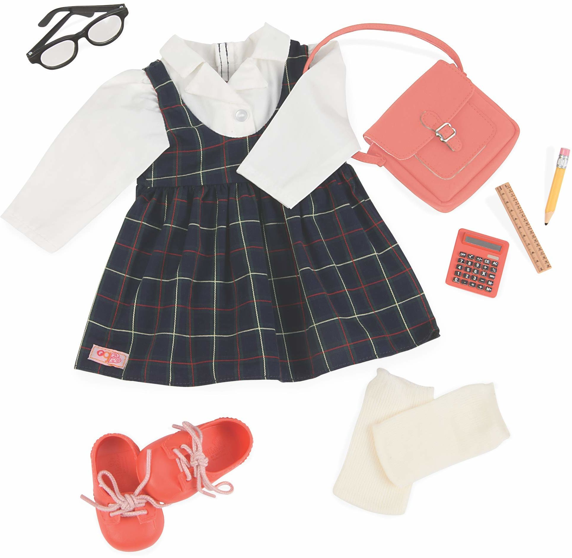 Our Generation BD30266Z strój dla lalek, wielokolorowy