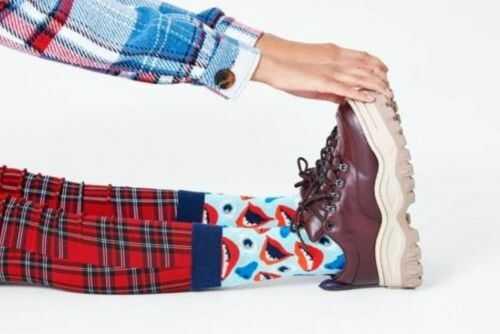 Happy Socks skarpetki FAC01-6000 R.41-46 FACE