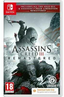 Gra Nintendo Switch Assassin''s Creed III Remastered. > DARMOWA DOSTAWA ODBIÓR W 29 MIN DOGODNE RATY