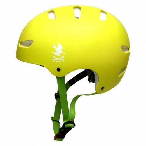 KRKpro kask NoPeace Green/White BMX MTB Skate Rolki
