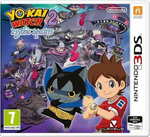 Gra YO-KAI WATCH 2: Psychic Specters (Nintendo 3DS)