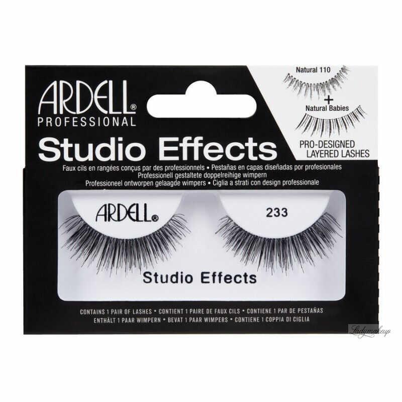 ARDELL - STUDIO EFFECTS - Rzęsy na pasku - 233