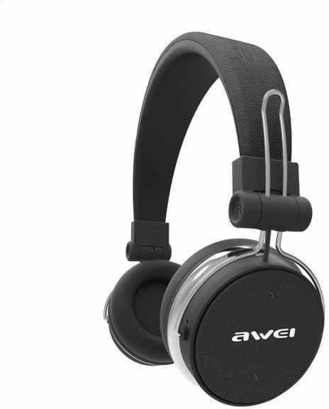 AWEI słuchawki nauszne Bluetooth A700BL czarny/black