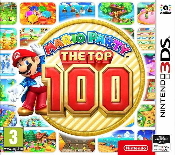 Gra Mario Party: The Top 100 (Nintendo 3DS)