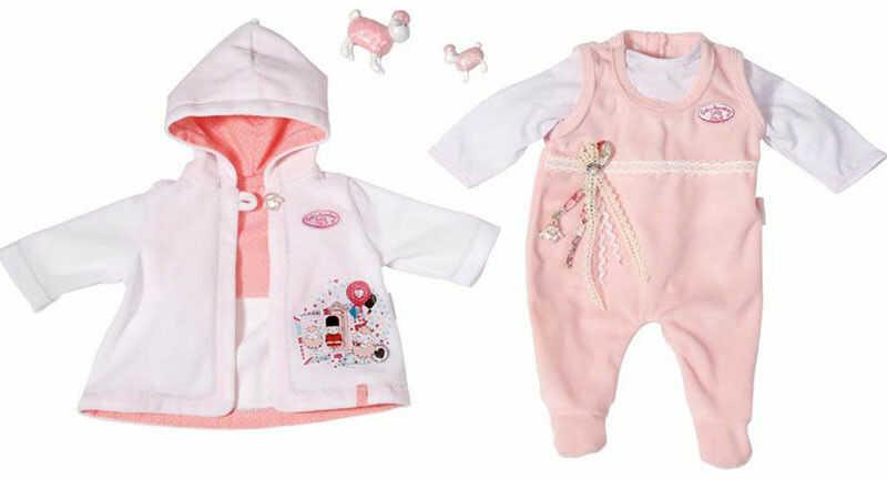 Baby Annabell - Ubranko Pierwsza wyprawka dla lalki 46 cm. 792896