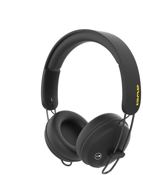 AWEI słuchawki nauszne Bluetooth A800BL czarny/black