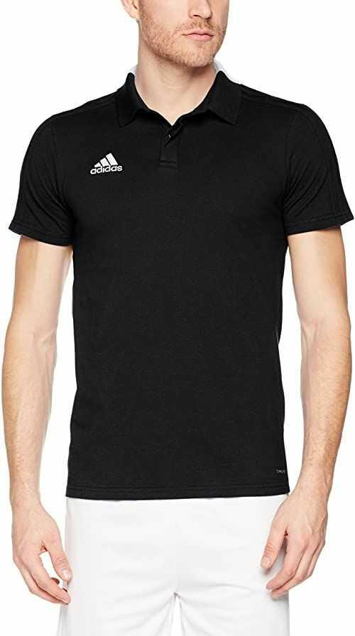 adidas Con18 Co koszulka polo męska czarny czarny/biały S