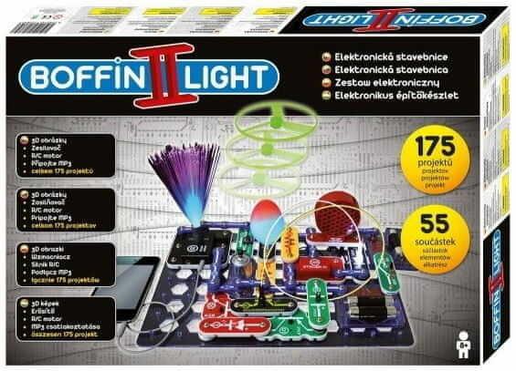 Zestaw małego elektronika Boffin II LIGHT Światło