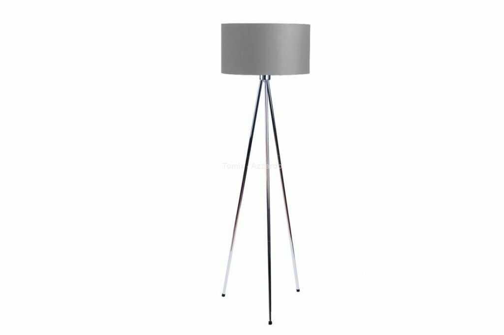 Finn lampa podłogowa 1-punktowa miedź/szara AZ3011