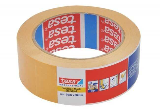 Taśma maskująca Tesa pomarańczowa długość 50m, szerokość 38 mm (04406-00003-00)