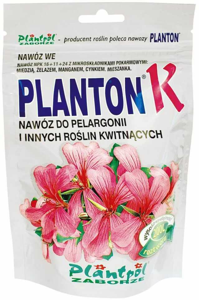 Nawóz do pelargonii i roślin kwitnących 0,2 kg PLANTON