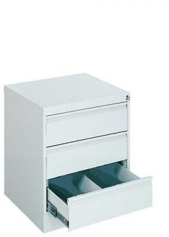 Metalowa szafa kartotekowa do biura SZK 103 LX z 3 szufladami