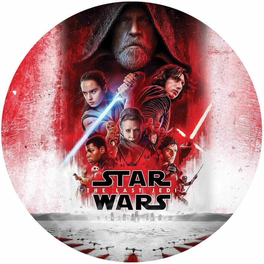 Dekoracyjny opłatek tortowy Star Wars - 20 cm