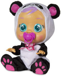 IMC Toys Cry Babies - Płacząca lalka bobas Panda 98213