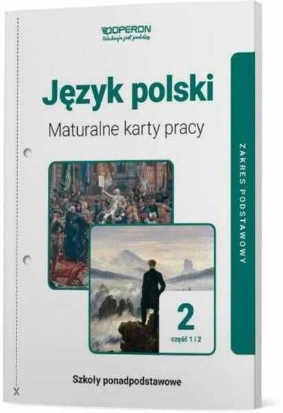 Język polski LO 2 Maturalne karty pracy ZP cz.1-2 - praca zbiorowa