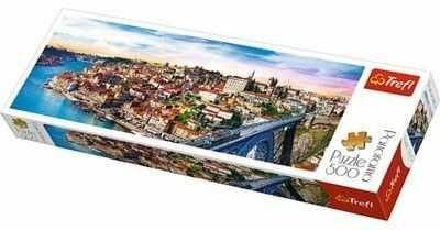 Puzzle TREFL 500 - Porto, Portugalia, Portugal (panorama)