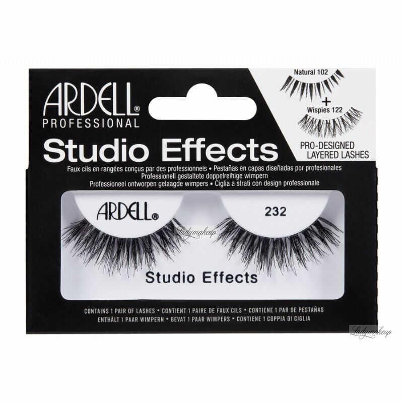 ARDELL - STUDIO EFFECTS - Rzęsy na pasku - 232