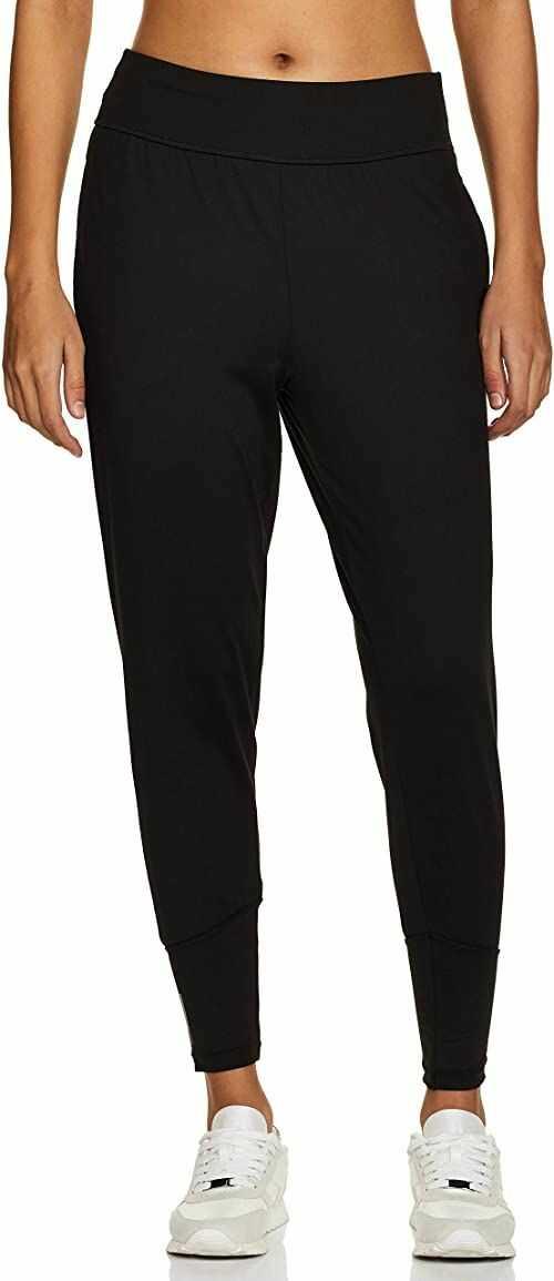 PUMA damskie spodnie do studia stożkowe spodnie dresowe Puma Czarny M