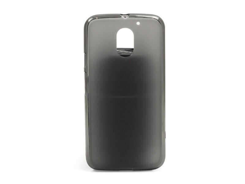 Lenovo Moto E3 - etui na telefon FLEXmat Case - czarny
