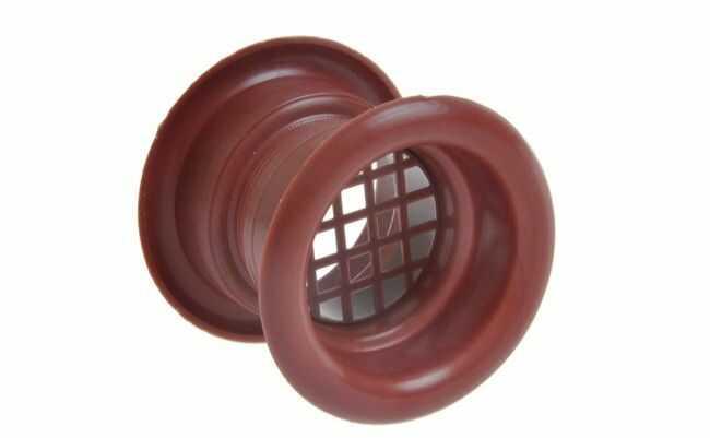 Tuleja wentylacyjna FI 40 TW mahoń