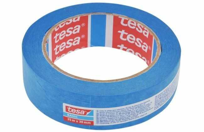 Taśma malarska na zewnątrz Tesa długość 35 m, szerokość 30 mm (58501-00000-00)