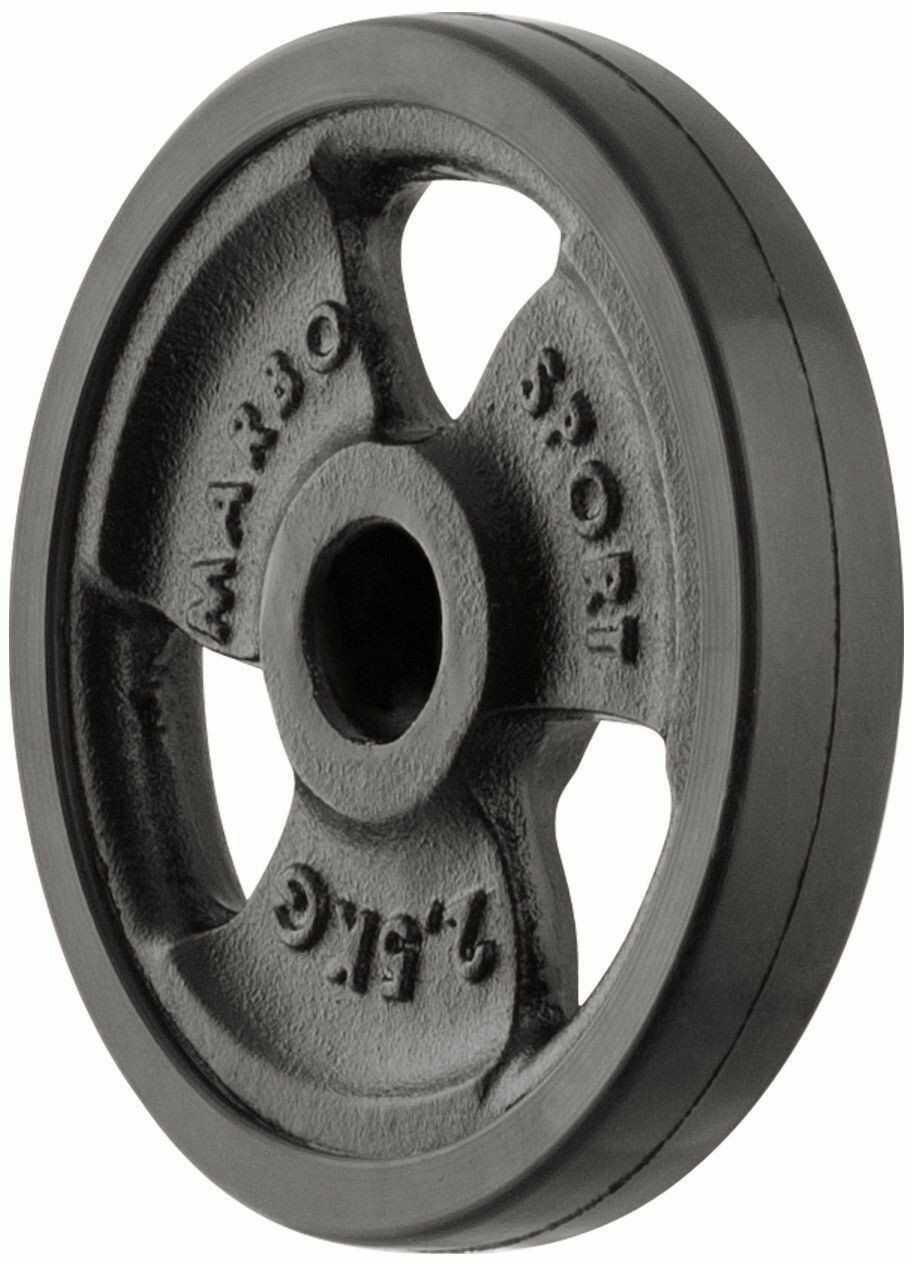 Obciążenie żeliwne gumowane 2,5 kg MW-O2-5G-kier - Marbo Sport