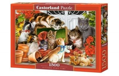 Puzzle Castorland 1500 - Kocie zabawy, Kittens Play Time