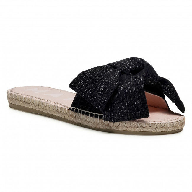 Espadryle MANEBI - Sandals With Bow G 0.1 J0 Sparkling Black