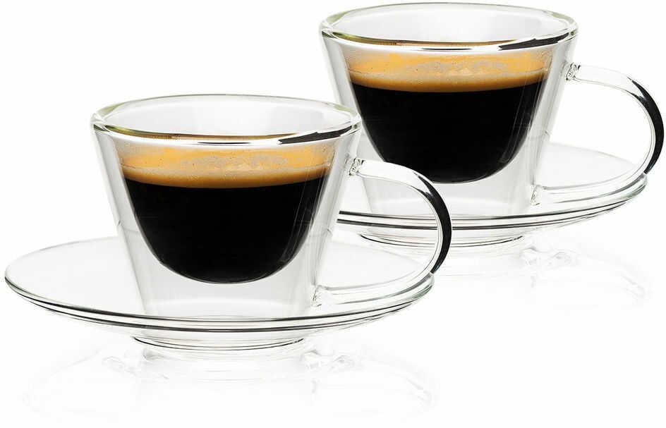 4home Szklanka termiczna do espresso Elegante Hot&Cool, 80 ml, 2 szt.