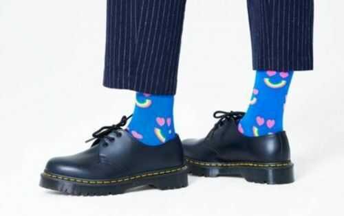 Happy Socks serca skarpetki HAR01-6300 R.41-46 TĘCZA