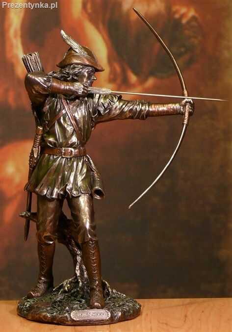 Statuetka Robin Hood prezent dla Taty