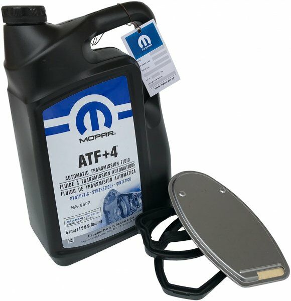 Olej MOPAR ATF+4 oraz filtr automatycznej skrzyni biegów NAG1 Chrysler 300C