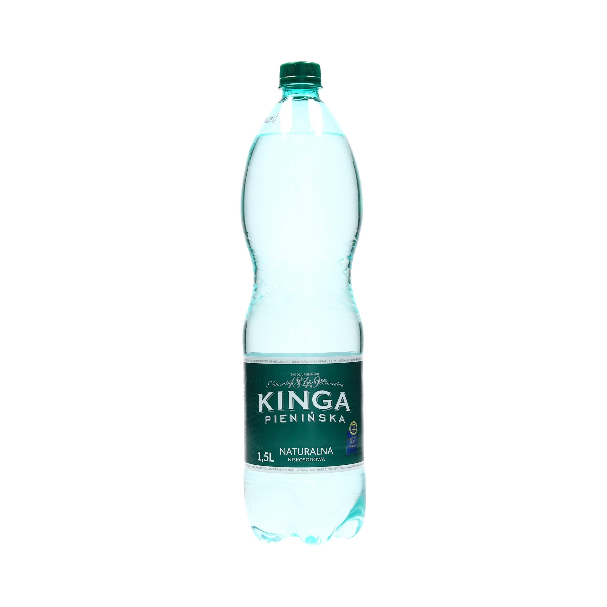 Woda mineralna 1.5l naturalna Kinga Pienińska