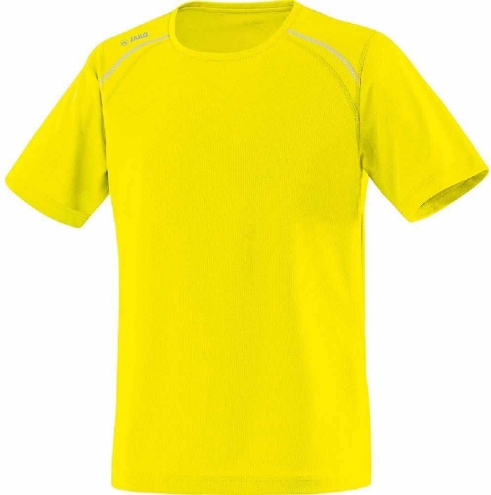 JAKO Run T-shirt męski żółty żółty neonowy 128