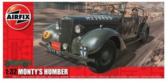 Monty Humber Snipe Staff Car model do sklejania Airfix