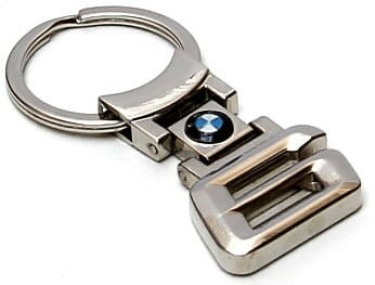 Brelok metalowy - BMW 6