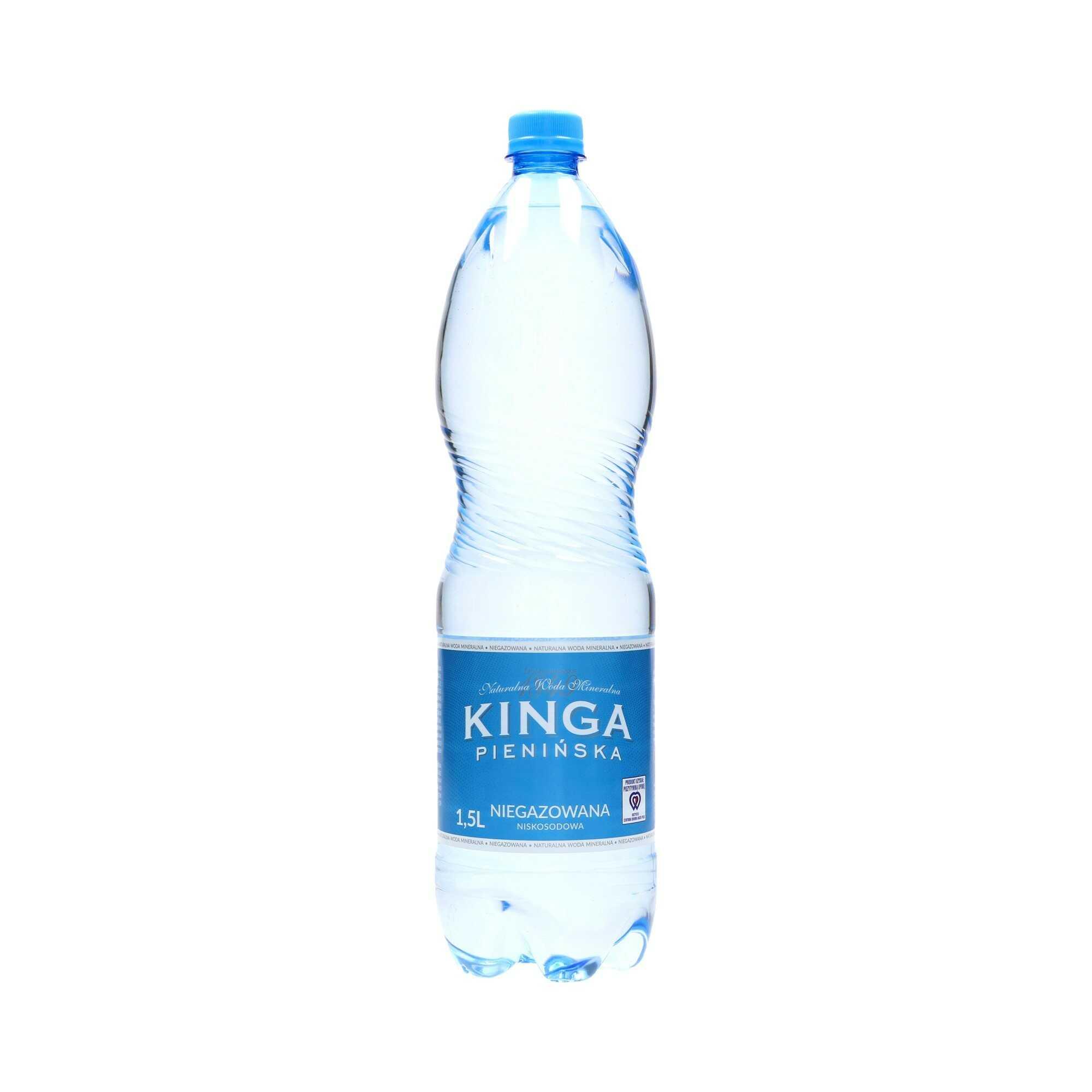 Woda mineralna 1.5l niegazowana Kinga Pienińska