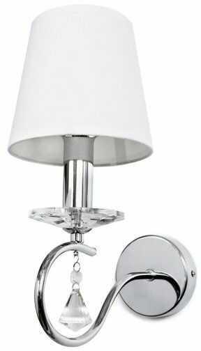Kinkiet Faroso BL0300 Berella Light biała oprawa ścienna w klasycznym stylu